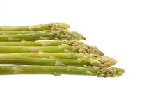 Fresh raw asparagus. On white background Royalty Free Stock Image