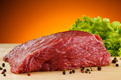 Fresh raw beef Royalty Free Stock Photos