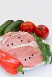 Fresh raw beef Royalty Free Stock Photos
