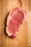 Fresh raw beef. On kitchen table Stock Photos
