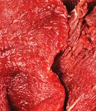 Fresh raw beef meat stock photography