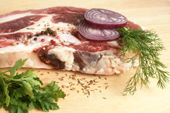 Fresh raw beef meat Stock Image
