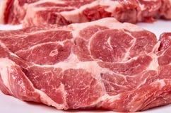 Fresh raw beef steak background, organic farm.  Stock Images