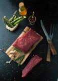 Fresh raw beef steak Stock Photo