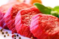 Fresh raw beef Royalty Free Stock Photo