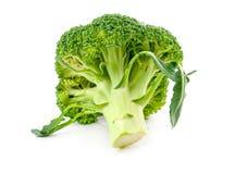 Fresh raw broccoli. Isolated on white background Stock Photo