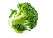 Fresh raw broccoli Royalty Free Stock Images