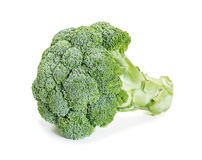 Fresh raw broccoli. On a white background Royalty Free Stock Photography