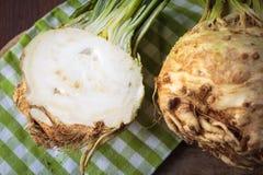 Fresh raw celeriec. Fresh raw celeriac for an healthy nutrition Stock Image