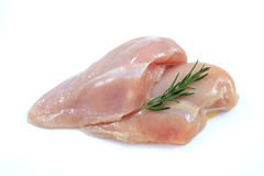 Fresh raw chicken breast Stock Image
