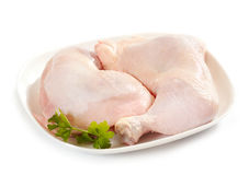 Fresh raw chicken legs Stock Image