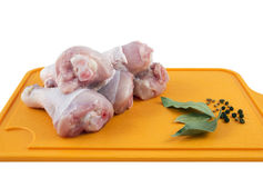 Fresh raw chicken legs Royalty Free Stock Image