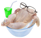 Fresh raw chicken Royalty Free Stock Photography