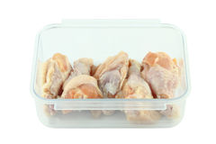 Fresh raw chicken wing package. Fresh raw chicken wing in package Stock Photo