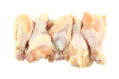 Fresh raw chicken wing package Stock Photography