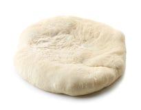 Fresh raw dough. Isolated on white background Royalty Free Stock Photo