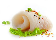 Fresh raw fish fillet Stock Photo