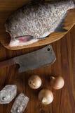 Fresh raw fish Stock Image