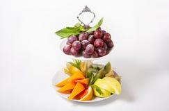 Fresh raw fruits Royalty Free Stock Images