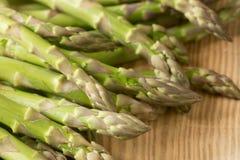 Fresh raw green asparagus. Closeup to fresh raw green asparagus Stock Photography