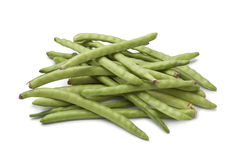 Fresh raw green beans Stock Photo