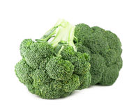Fresh, Raw, Green Broccoli Pieces. Cut and Ready to Eat Royalty Free Stock Image