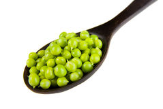 Fresh raw green peas Royalty Free Stock Images
