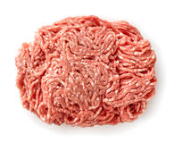 Fresh raw ground meat Royalty Free Stock Image