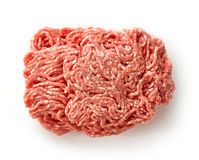 Free Fresh Raw Ground Pork Heap Stock Photos - 71347253