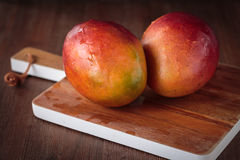 Fresh raw mango fruit. For an healthy nutrition Royalty Free Stock Images