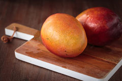 Fresh raw mango fruit. For an healthy nutrition Stock Images
