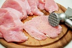 Fresh, raw meat Royalty Free Stock Photo