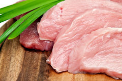 Fresh, raw meat Stock Photos