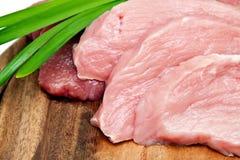 Fresh, raw meat Stock Photos