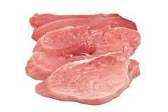 Fresh, raw meat Royalty Free Stock Photos