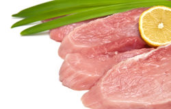 Fresh, raw meat Royalty Free Stock Images