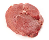 Fresh raw meat. On white background Stock Images