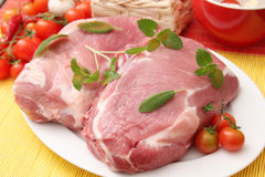 Fresh raw meat Royalty Free Stock Photos