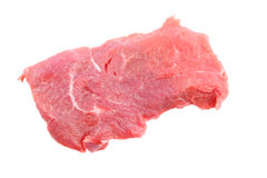 Fresh raw meat isolated. On white background Royalty Free Stock Images