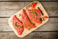 Fresh raw meat. Stock Photography