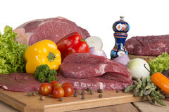 Fresh Raw Meat Stock Photography