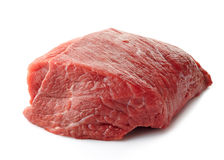 Fresh raw meat. On a white background Royalty Free Stock Images