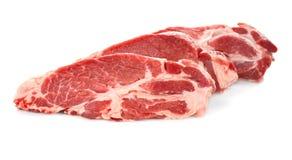Fresh raw meat. On white background Stock Photo