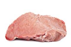 Fresh raw meat on a white background. Fresh raw meat isolated on a white background Stock Image