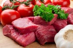 Fresh raw meat. Royalty Free Stock Photo