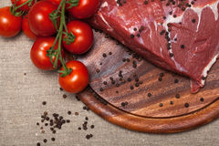 Fresh raw meat Stock Image