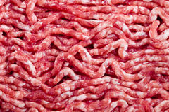 Fresh raw minced meat. Background Royalty Free Stock Photography