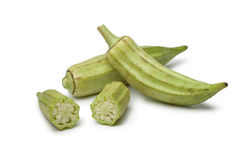 Fresh raw okra Stock Photography