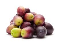 Fresh raw olives Royalty Free Stock Photo