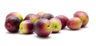 Fresh raw olives Royalty Free Stock Photography